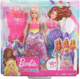 Кукла Barbie Dreamtopia - 3 костюма