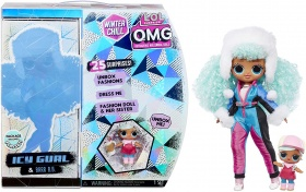 L.O.L. Surprise! O.M.G. Winter Chill ICY Gurl Модна кукла & Brrr B.B.