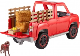 Barbie GFF52 - fun on the farm farmer truck with farmer's doll